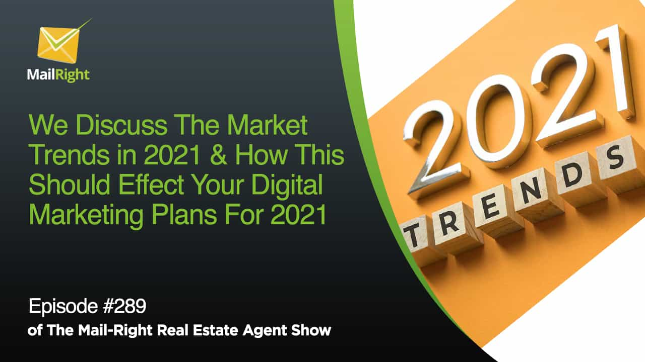 289 Mail-Right Show With Special Guest Aaron Norris of PropertyRadar